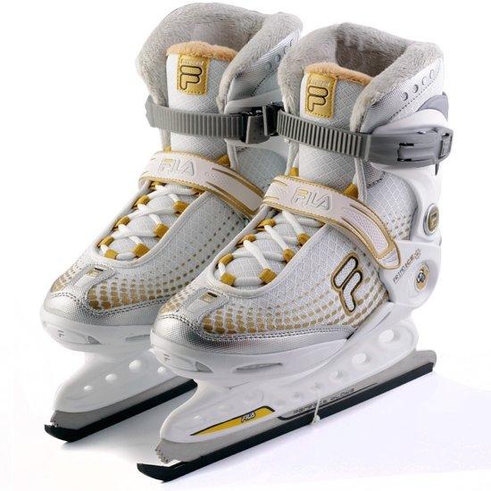 Fila Ijshockeyschaatsen Primo Ice Spot Lady Dames Wit Maat 37,5