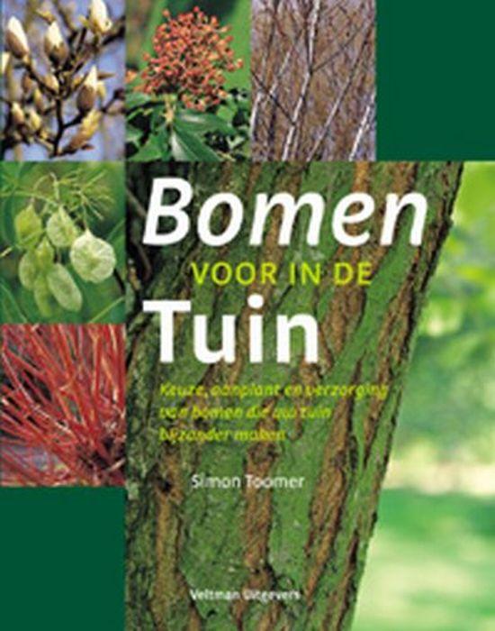 Bomen voor in de tuin s toomer 9789059204195 for De geheime tuin boek