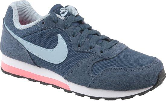 nike sneakers dames blauw roze