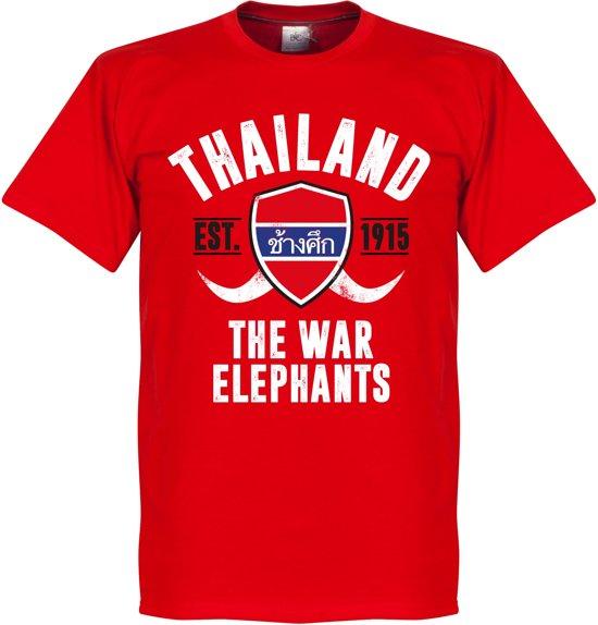 Thailand Established T-Shirt - Rood - XXL