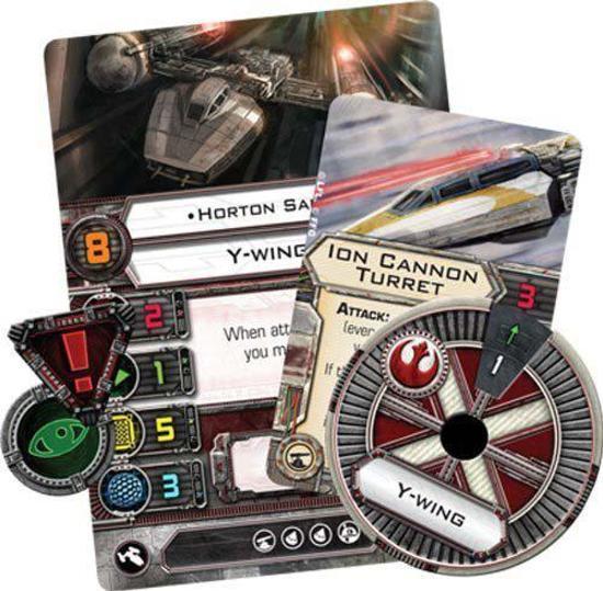 Thumbnail van een extra afbeelding van het spel Star Wars X-Wing - Y-Wing Expansion
