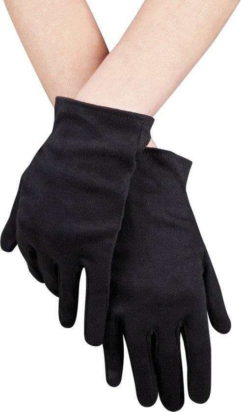 24 stuks: Handschoenen pols Basic - zwart