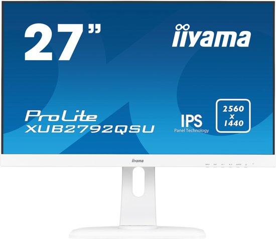 Iiyama ProLite XUB2792QSU-W1 - WQHD IPS Monitor