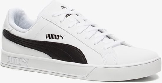 Puma Smash Vulc heren sneakers - Wit - Maat 42