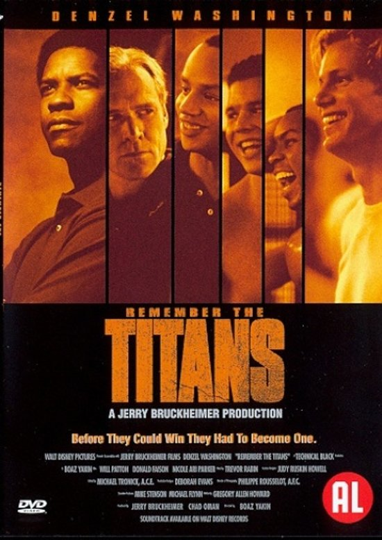 REMEMBER THE TITANS DVD NL
