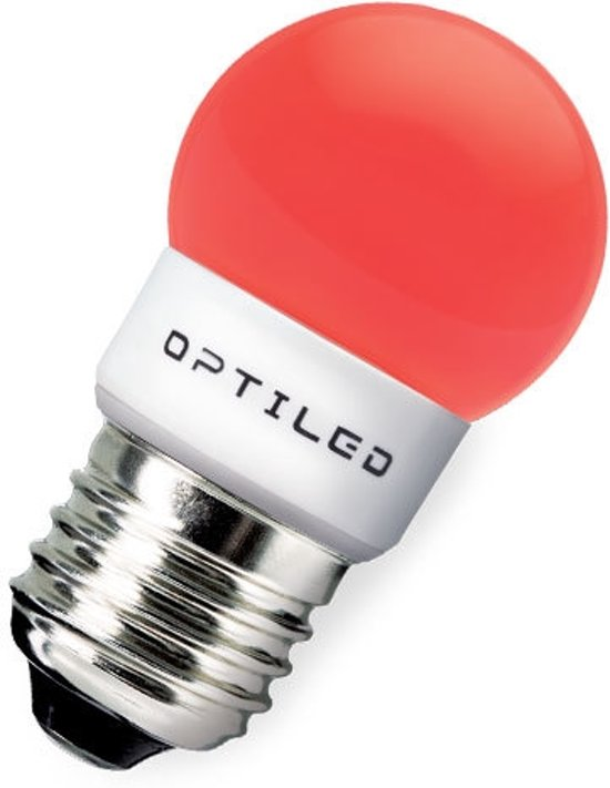 bol.com | Optiled Festival LED H12 Rood E27 2W