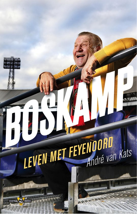 Boek cover Boskamp van Andre van Kats (Onbekend)