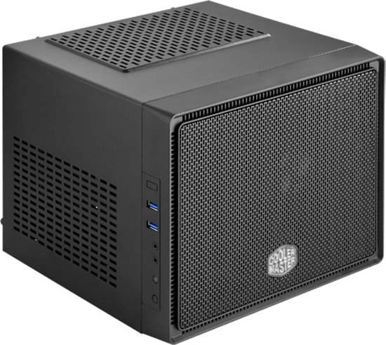 Cooler Master Elite 110 kubus Zwart computerbehuizing