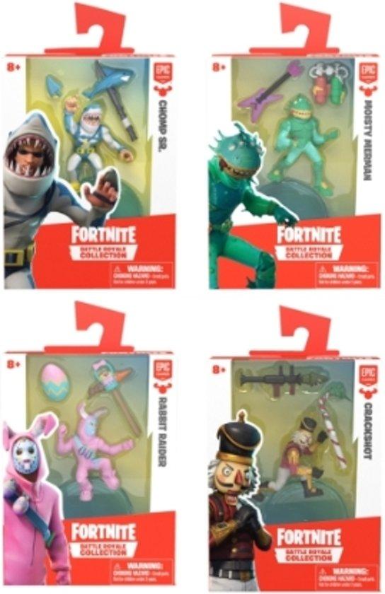 Afbeelding van Fortnite - Solo Figuur inclusief 2 accessoires - 9 figuren te verzamelen! speelgoed