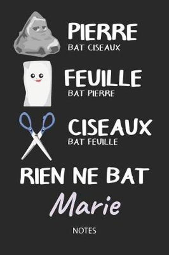 Rien ne bat Marie - Notes
