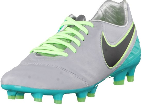 info for 1d485 5a8f6 Nike - Tiempo Legacy II FG - Voetbalschoen - Grijs - maat 42.5
