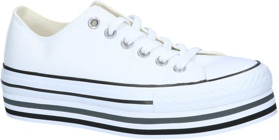 60c547e0ae0 Witte Sneakers Converse All Star Chuck Taylor Platform Layer