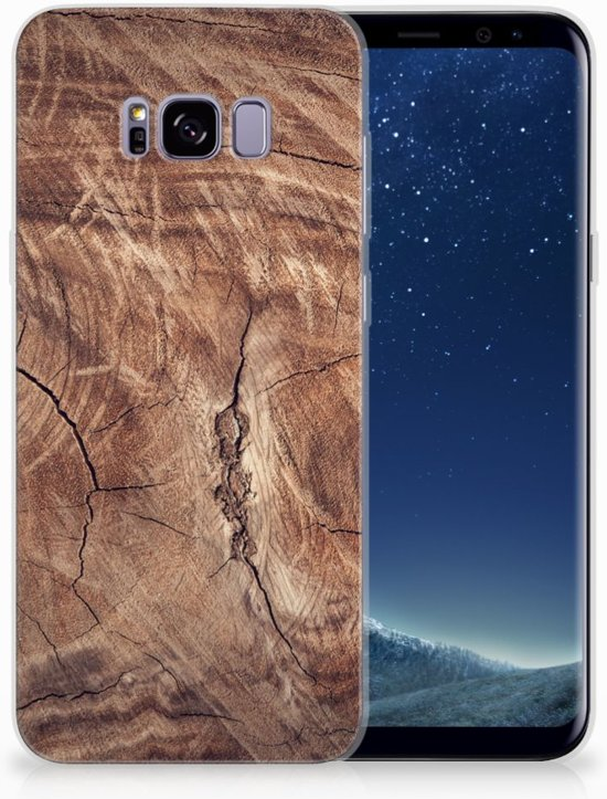 Samsung Galaxy S8 Plus TPU Hoesje Design Tree Trunk