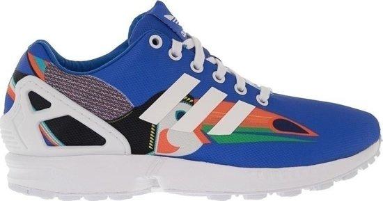 blauwe adidas sneakers zx flux dames
