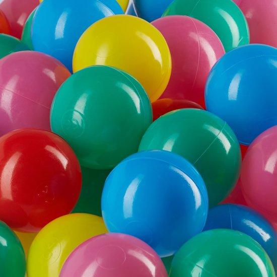 Ballen voor het ballenbad - 200 Stuks - zachte babyballen - vrij van schadelijke stoffen
