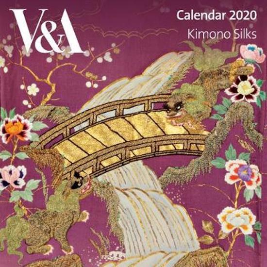 V&a Kimono Silks - Mini Wall Calendar 2020 (Art Calendar)