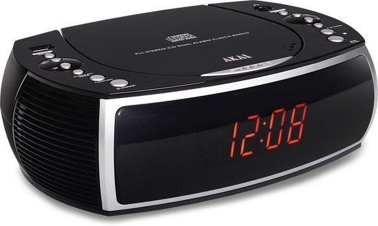 Akai ARC125BK - Wekkerradio met CD-speler - Zwart