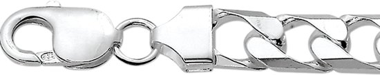 The Jewelry Collection For Men Armband Geslepen Gourmet 10 mm - Zilver