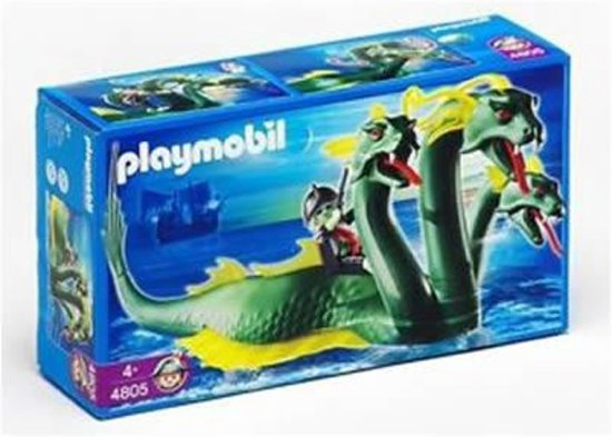 Playmobil Driehoofdig Zeemonster - 4805