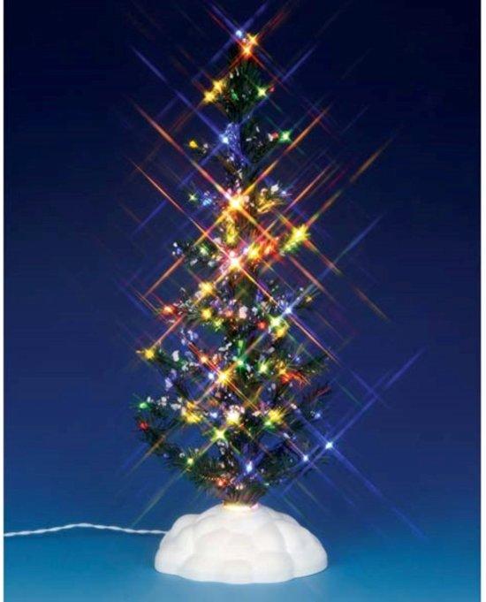 Lemax Lighted Pine Tree, Multi, Large