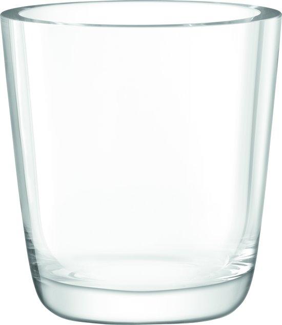 L.S.A. Otto Vaas - Glas - Ø 25 x 27 cm - Transparant