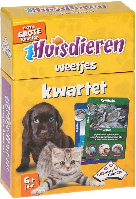 Afbeelding van het spel Kwartet Huisdieren - Kaartspel