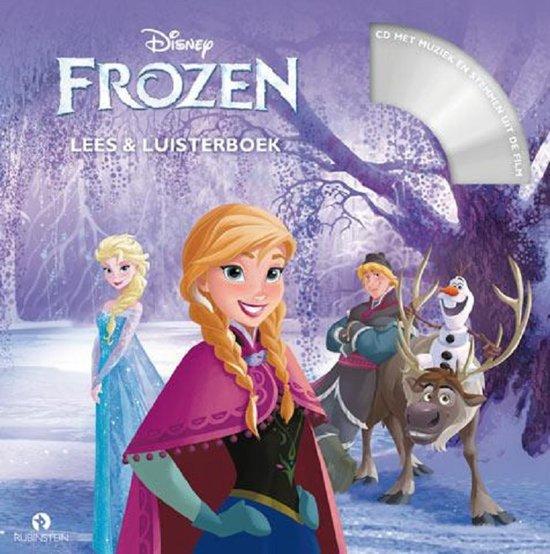 Frozen - Disney Frozen Lees & Luisterboek - Ideaal voor op reis