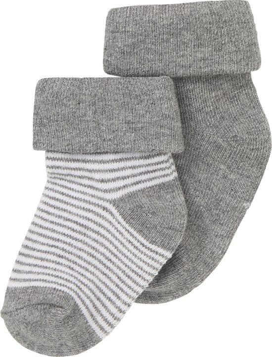 Noppies Jongen Socks 2pck Guzz - Maat 0-3 mnd