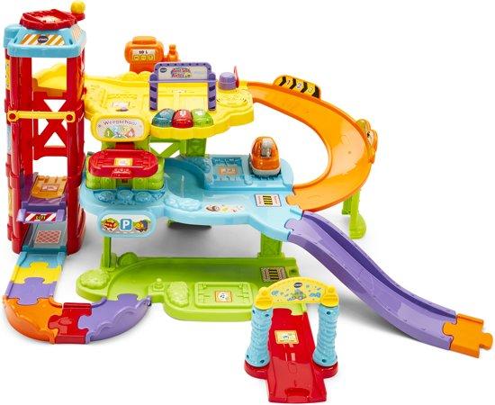 Bol Com Vtech Toet Toet Auto S Garage Speelset Vtech Speelgoed