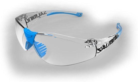 Salming SplitVision - squash veiligheidsbril - blauw