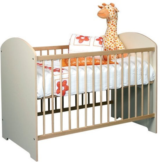 Baby ledikant Pim - kleur Ecru