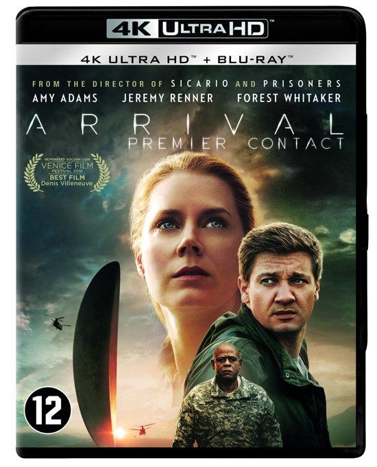 DVD cover van Arrival (4K Ultra HD Blu-ray)