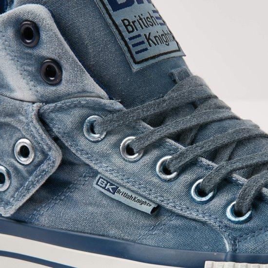 Maat 43 Blauw Sneakers Hoog British Roco Knights Donker Heren pUSaS0