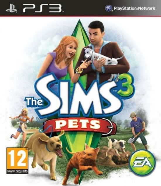 Electronic Arts The Sims 3 Pets, PS3 Basis PlayStation 3 video-game