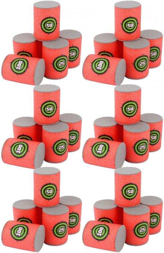 Foam Blik Targets voor Nerf (set van 36 stuks)