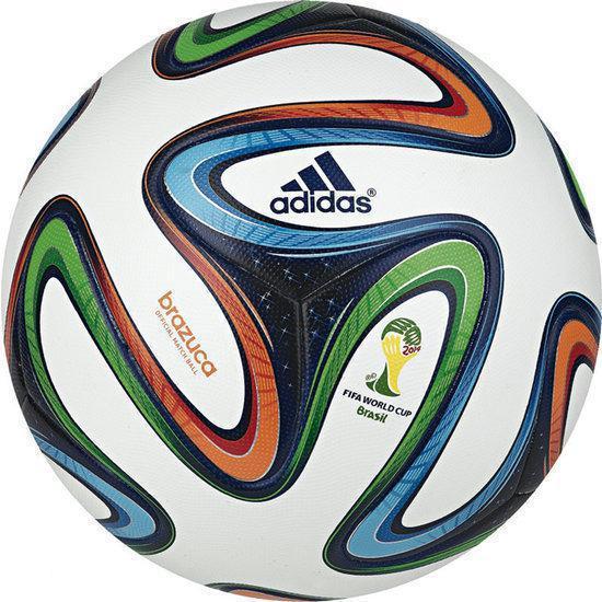fb382abbf44 bol.com   adidas Brazuca - Voetbal - 5 - Multi