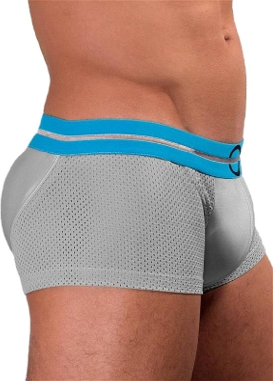 4dffaacaef35 bol.com | Rounderbum Spacelight Mesh Lift Boxer Trunk Underwear Grey - S