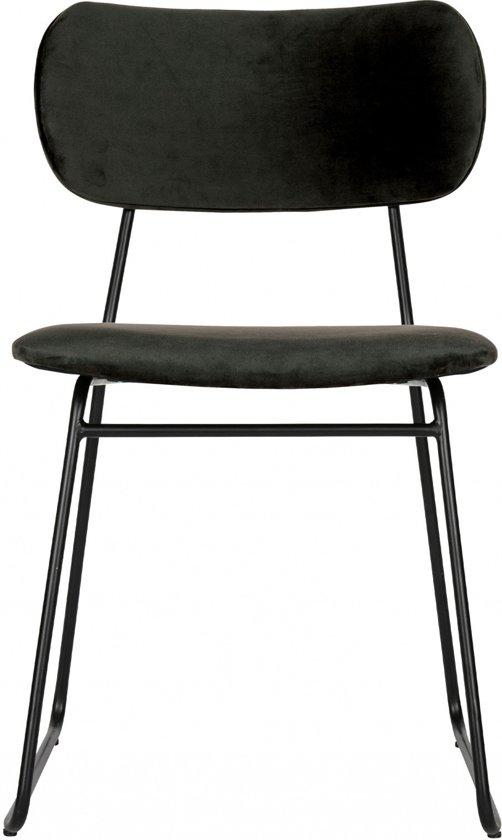 BePureHome Wimple velvet eetkamer stoel