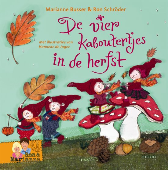De vier kaboutertjes - De vier kaboutertjes in de herfst