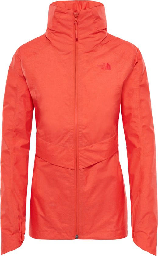 387f60b6d17 The North Face Inlux Dryvent Jas - Dames - Fire Brick Red Inlux Dryvent  jacket