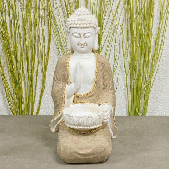 Boeddha vrede met waxinelichthouder | Gerichtekeuze