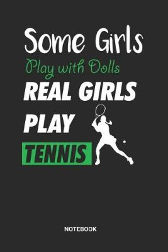 Tennis Girls Notebook: Game Record Notebook (6x9 inches) with Blank Pages ideal as a Tournament Tracking Journal. Perfect as a Training Book