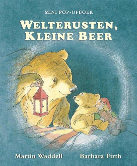 Boek cover Welterusten, kleine beer van Martin Waddell (Hardcover)