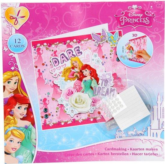 Disney Princess 3D Kaarten maken.