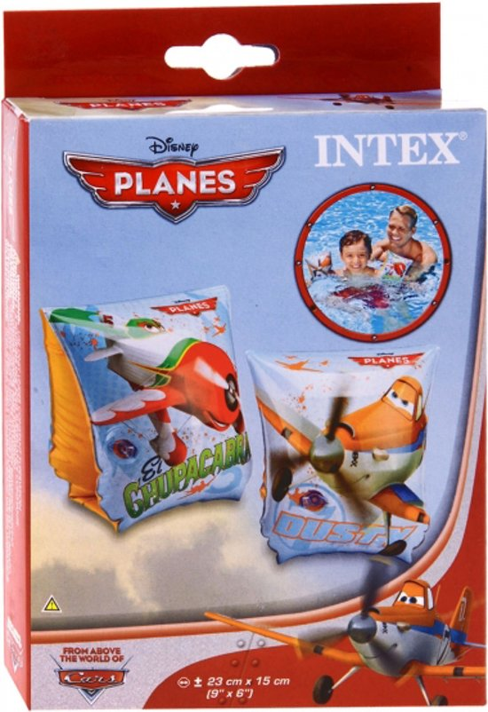 Intex Planes Zwemmouwtjes 15 tot 30 kg