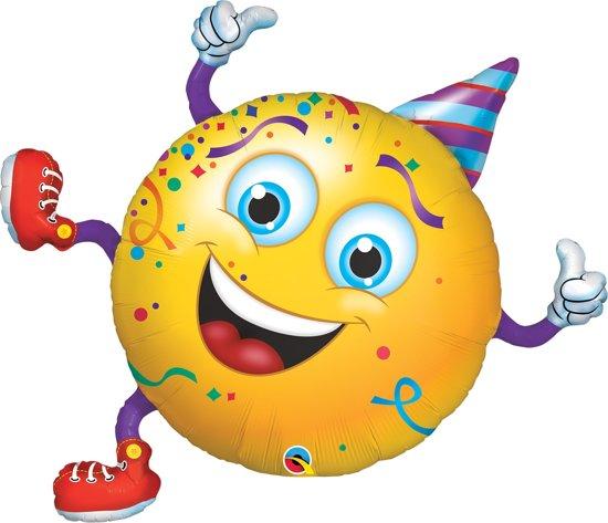 bol.com | 38in/96cm Shape Smiley party guy