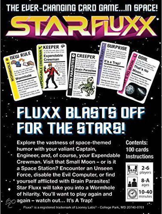 Thumbnail van een extra afbeelding van het spel Star Fluxx