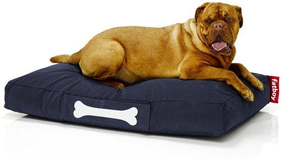 Fatboy Honden Zitzak.Fatboy Doggielounge Stonewashed Wasbare Hondenmand Large 120 80cm Donkerblauw