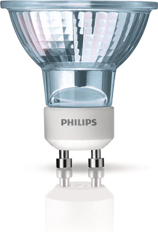 bol.com | Philips Halogeen lamp 50W GU10 Warm wit - 6 stuks