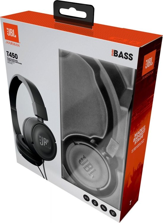 JBL T450 On-Ear Koptelefoon